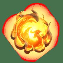 สัญลักษณ์รูปนกไฟในดวงอาทิตย์